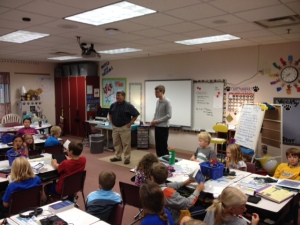 Rotary dictionary day at Challenger