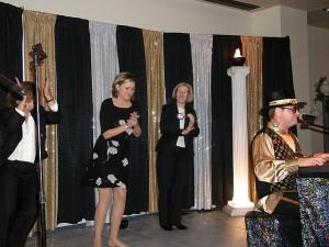 Deb Missy & Eloise Backup Dancing