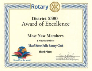 2016 New Member Award